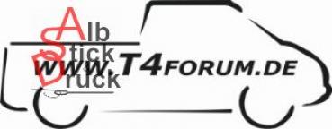 Aufkleber T4Forum rechts - Doka