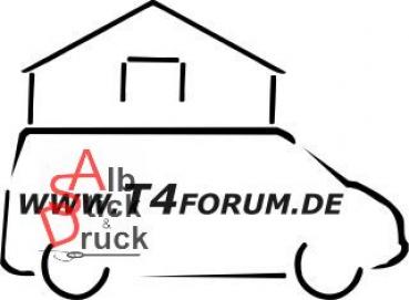 Aufkleber T4Forum Dachzelt rechts