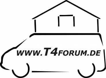 Aufkleber T4Forum Dachzelt links
