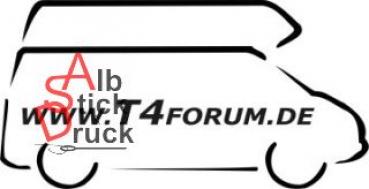 Aufkleber T4Forum rechts - Hochdach Exclusive LR