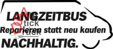 Aufkleber T4Forum Langzeitbus rechts