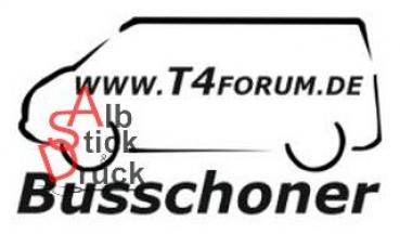 Aufkleber T4Forum Busschoner