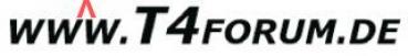 Motorhauben Schriftzug T4Forum
