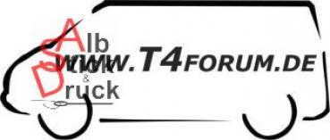 Aufkleber T4Forum links - klein
