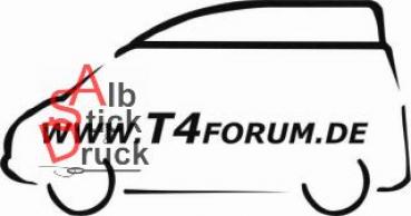 Aufkleber T4Forum links - Kompaktdach