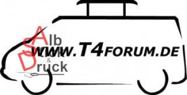 Aufkleber T4Forum links - Pilzhubdach