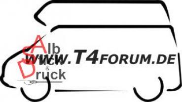 Aufkleber T4Forum links - Hochdach