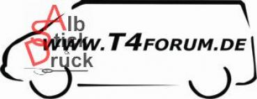Aufkleber T4Forum links langer Radstand