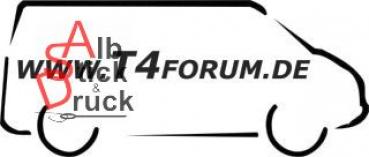 Aufkleber T4Forum rechts