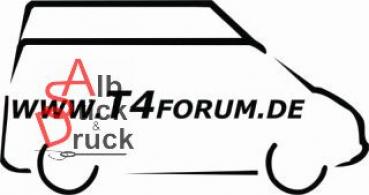 Aufkleber T4Forum rechts - Serienhochdach