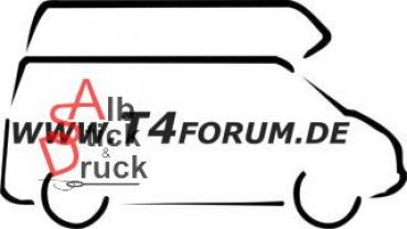Aufkleber T4Forum rechts - Hochdach