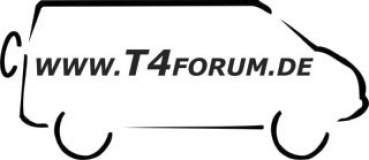 Aufkleber T4Forum rechts - Syncro